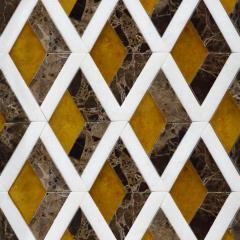 Мозаика из мрамора с Зд эффектом