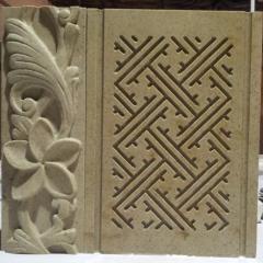 Образец  мраморного декора