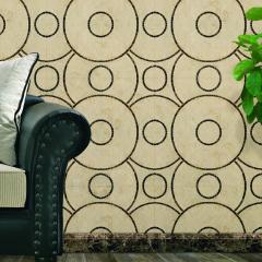 Decorative marble tiles.