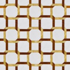 Мозаика из мрамора с интарсией декоративного камня