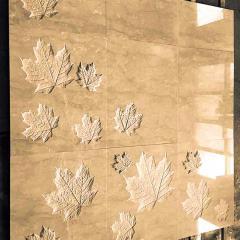 Мраморная плитка с декором
