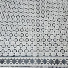 Мраморная мозаика на полу