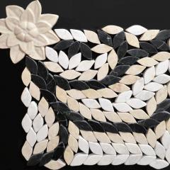 Мраморная мозаика под антик