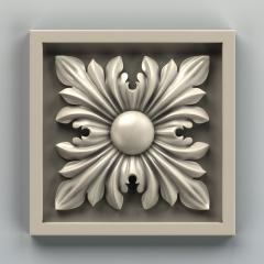 Модель декоративной розетки