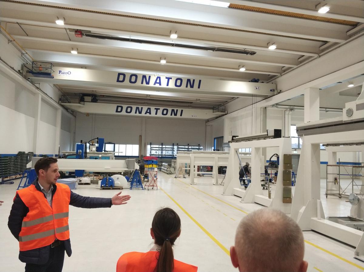 Известные вcему миру станки Donatoni собирают в этом цеху