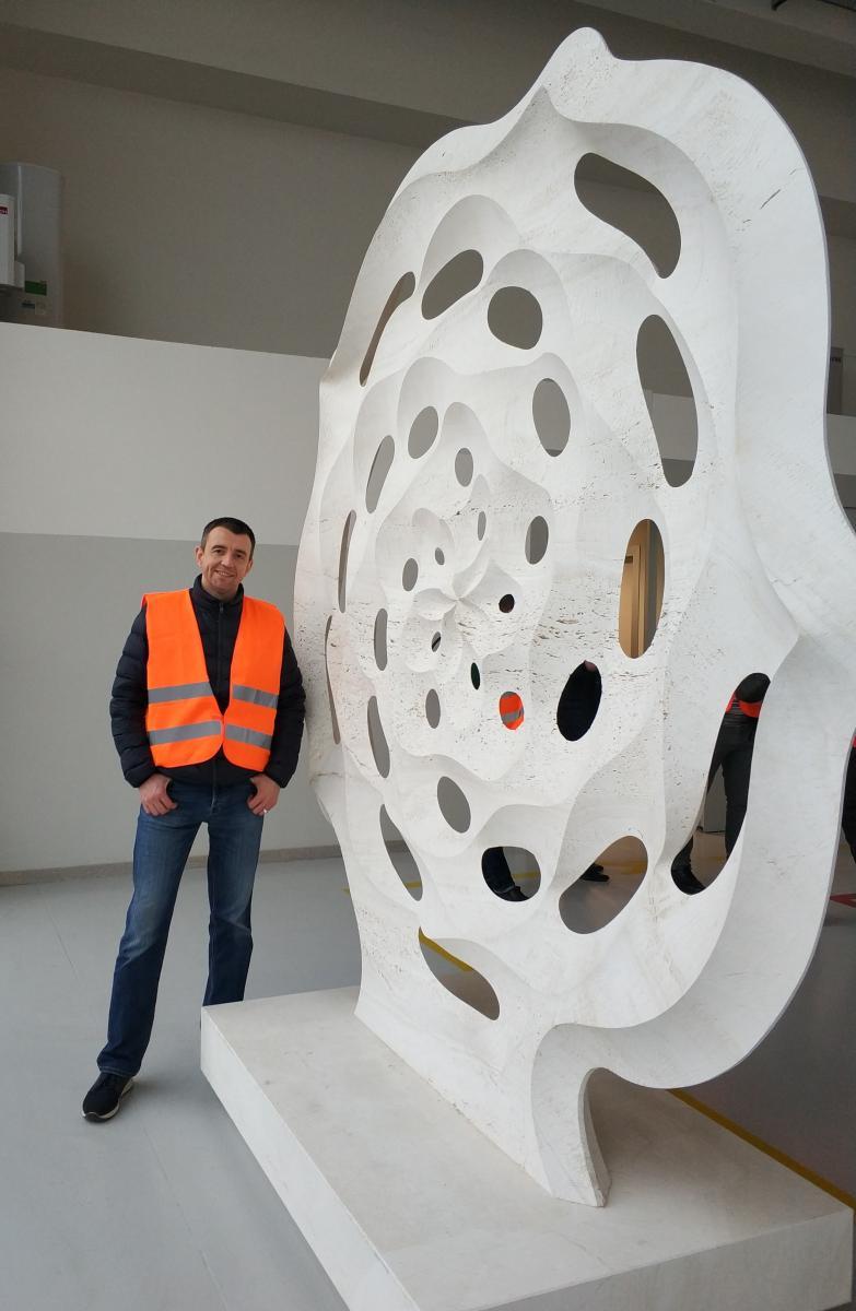 На заводе можно увидеть и изделия, которые производят с помощью станков Donatoni